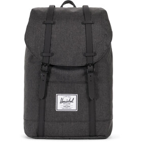 Herschel Retreat Backpack 19,5l Unisex, black crosshatch/black